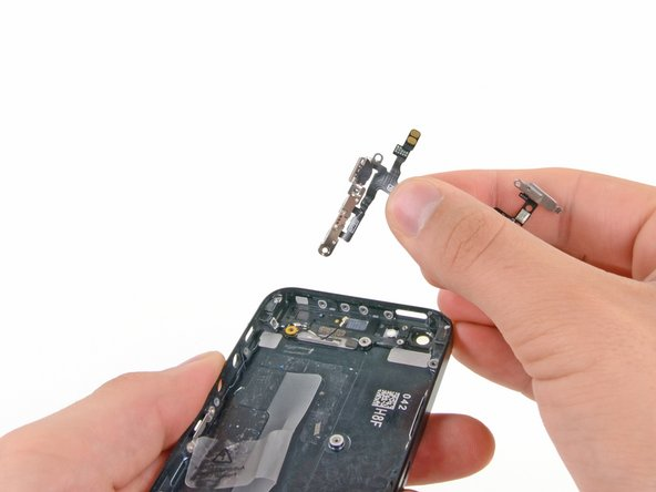 iPhone 5 Audio Control and Power Button Cable Replacement