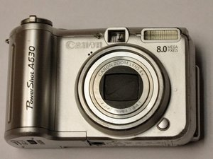 Canon PowerShot A630 Troubleshooting
