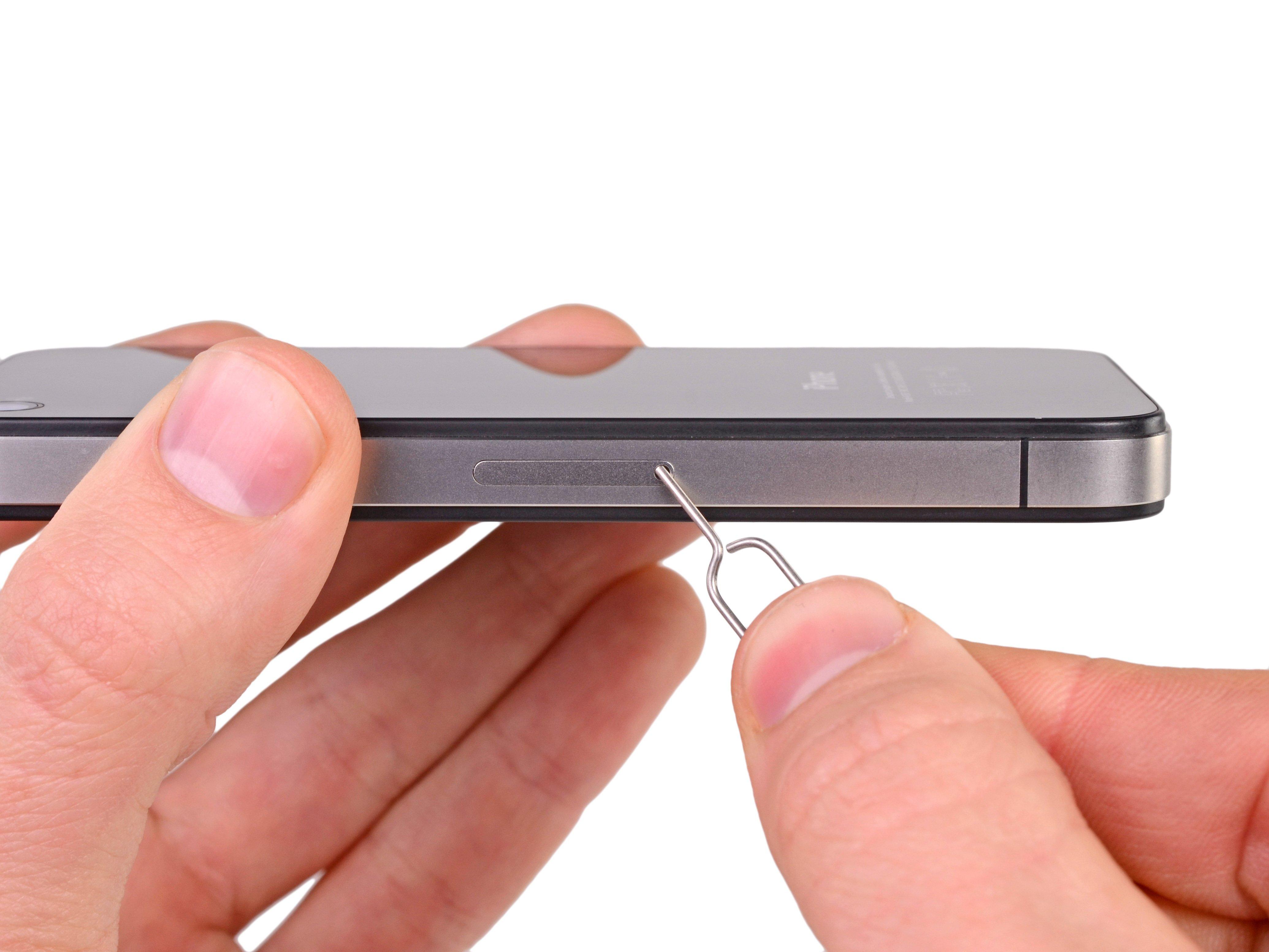Iphone 4s Sim Karte.Iphone 4s Sim Karte Ersetzen Ifixit Reparaturanleitung