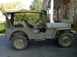 Willys-Overland CJ-3A Repair