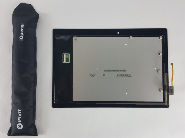 Remove the screen from the frame of the tablet