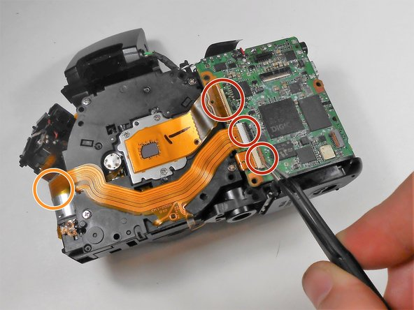 Canon PowerShot SX150 IS Motherboard Replacement