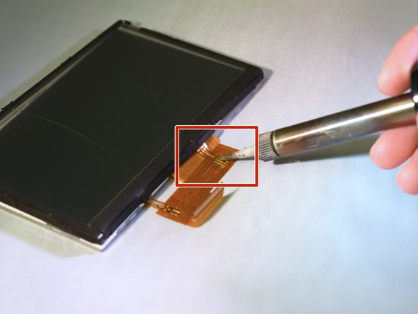 Image 1/1: After the connection is seperated, place the digitizer screen on your work surface.
