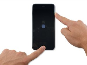 iPhone 6s Plusのハードリセットの方法