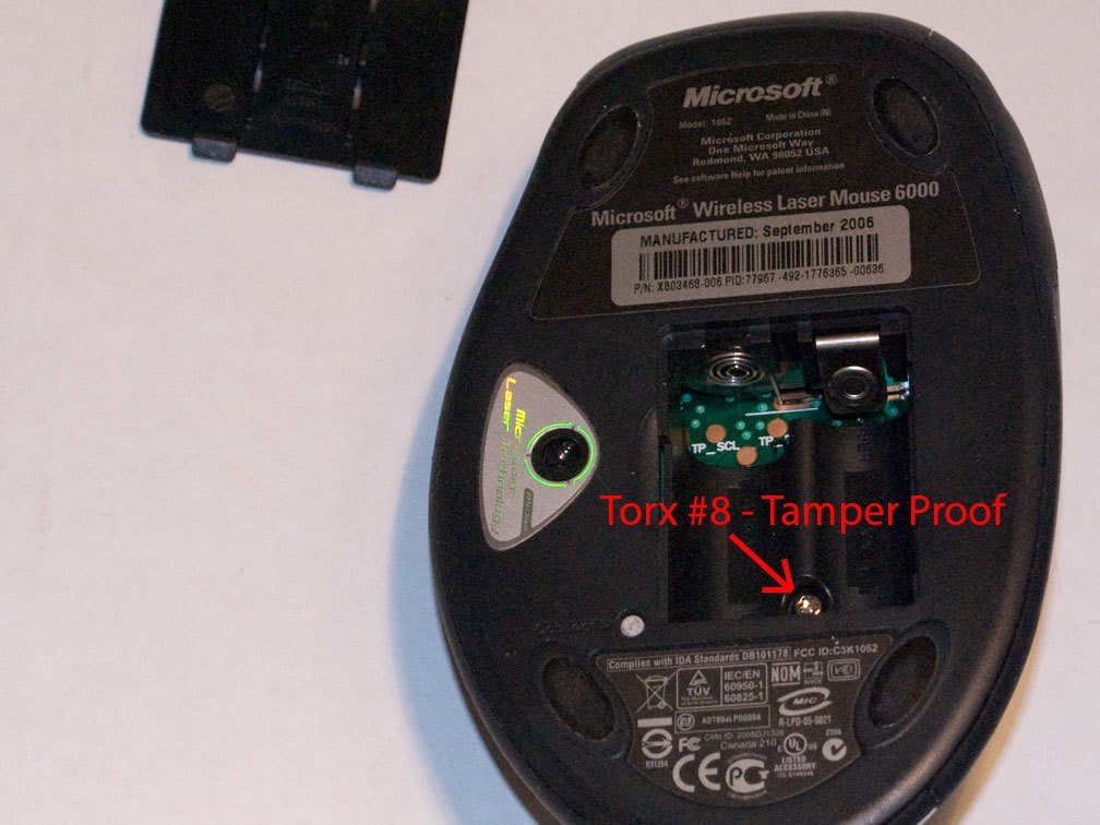 d2b6fc3c29b Microsoft Wireless Laser Mouse 6000 and 5000 Disassembly - iFixit ...