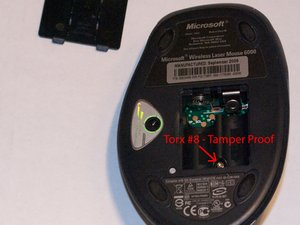 Microsoft Wireless Laser Mouse 6000 and 5000 Disassembly