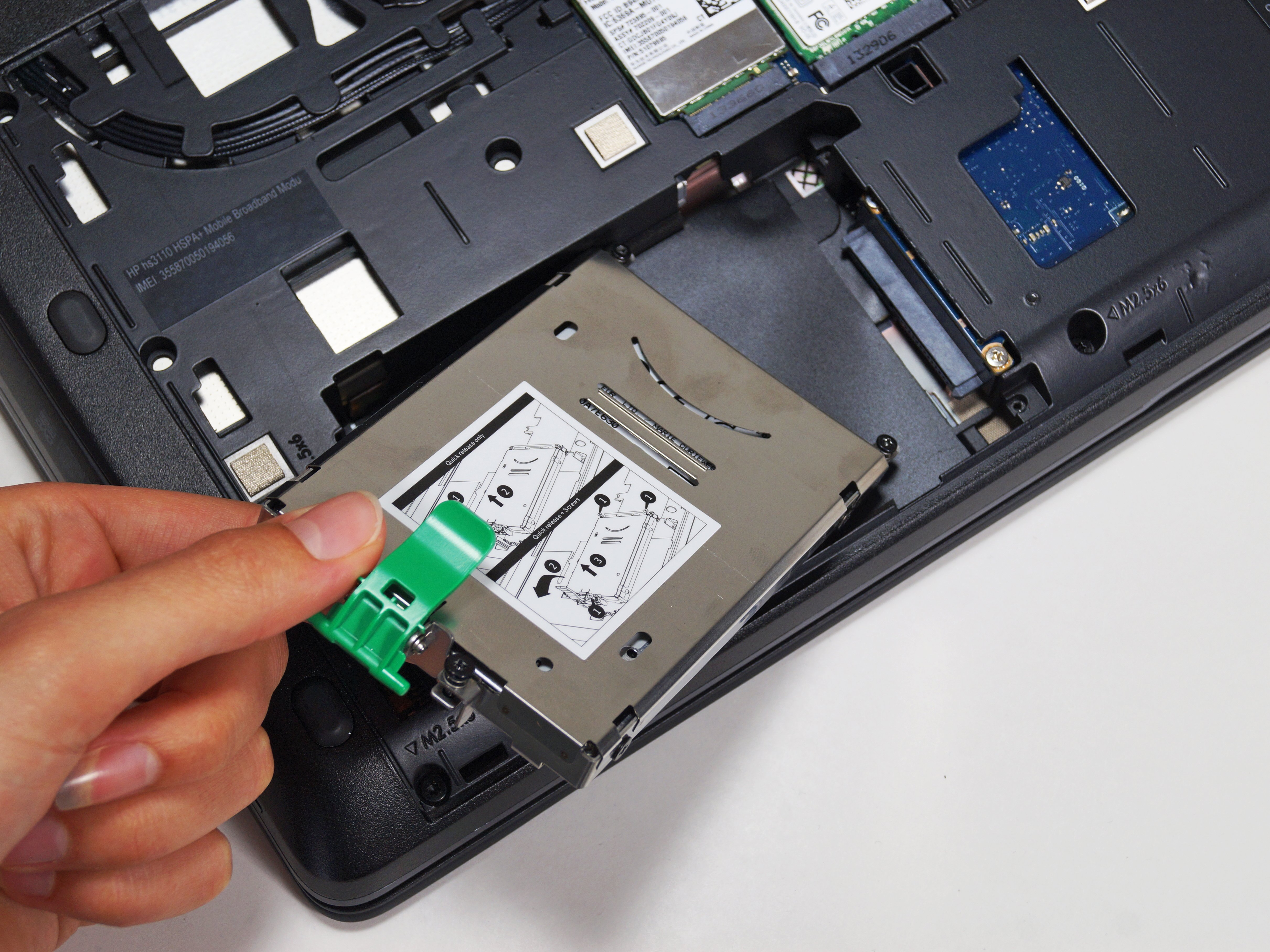 Hp Zbook 15 Hard Drive Replacement Ifixit Repair Guide