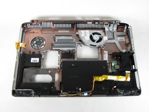 HP Pavilion zd8000 Left Speaker Replacement