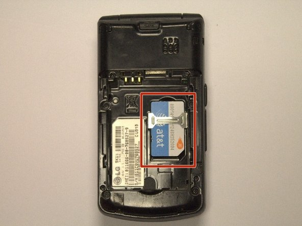 LG CU515 SKU 64743 Device SIM Card Replacement