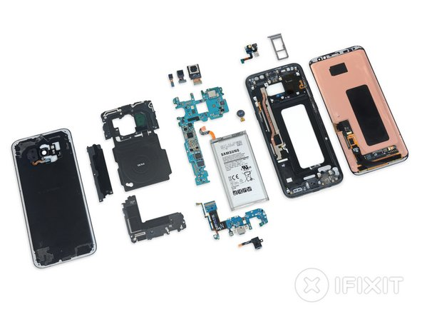 That's it for the S8+. If you're still hungry for more teardown, warp on over to our analysis of the standard Galaxy S8.