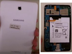 Samsung Galaxy Tab 4 7.0 SM-T230NU Disassembly