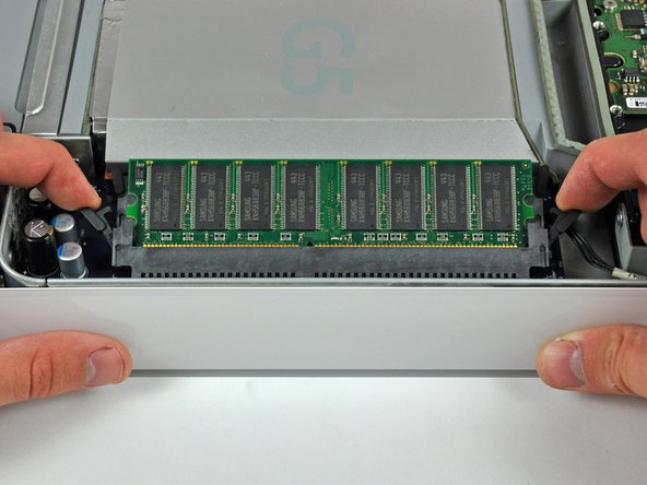 Image 2/3: Repeat this process for the other RAM chip.