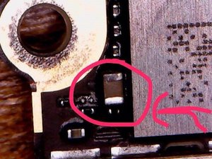 Riparazione iphone 6 water damage