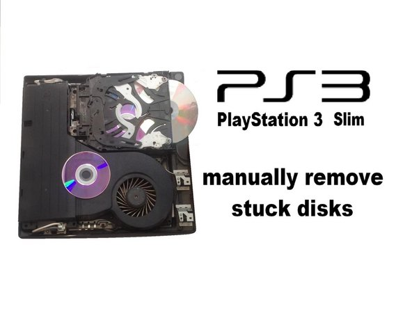 playstation 3 slim manually removing stuck disk ifixit repair guide rh ifixit com PS3 Repair Chula Vista PS3 System
