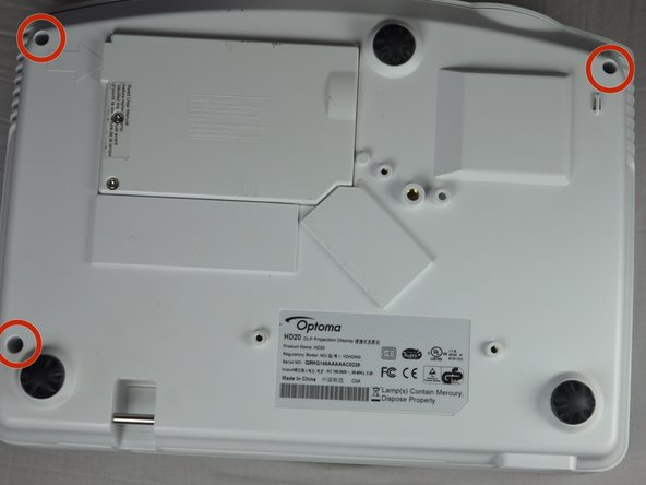 Use a Phillips #1 screwdriver to remove the three 7.5mm screws on the bottom of the device.