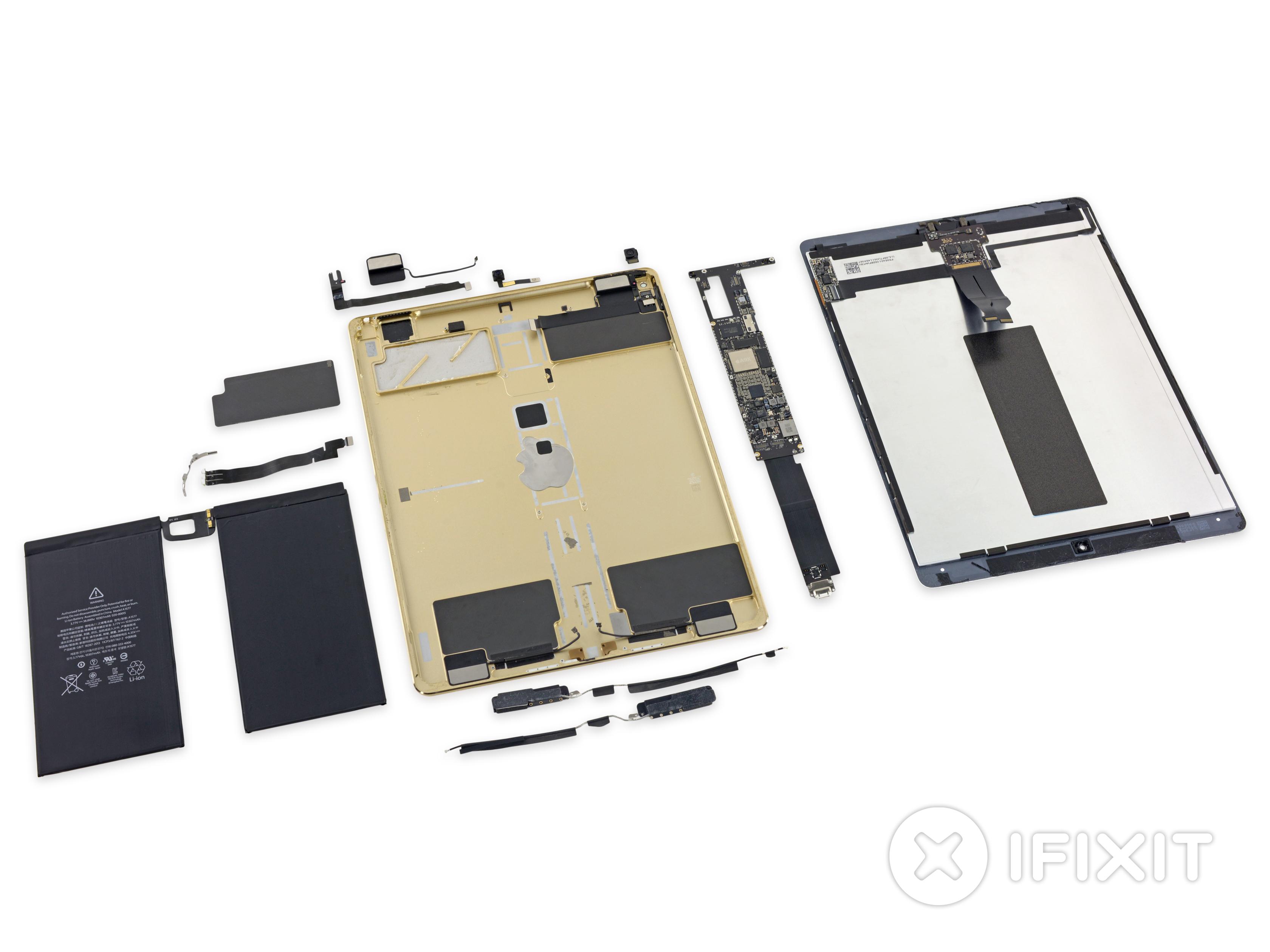 Ipad Pro 129 Teardown Ifixit Jack Antenna Wiring Diagram