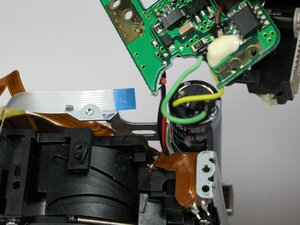 Canon PowerShot A75 Motherboard/Capacitor Replacement