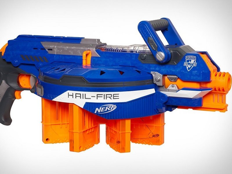 Blaze Storm 7055 Soft Dart Gun Toy Electric Semi Auto Firing