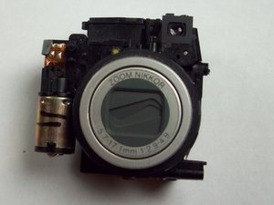 Lens and Flash Assembly
