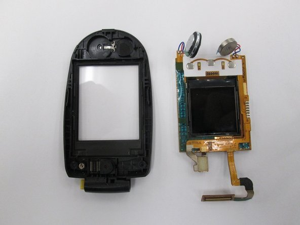 Removing LG VX8350  Screen Assembly