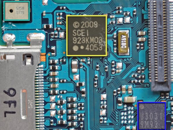 Image 3/3: The second picture is of the QZ7-001A 95D ALPS 002433 A73457 Bluetooth communication chip.