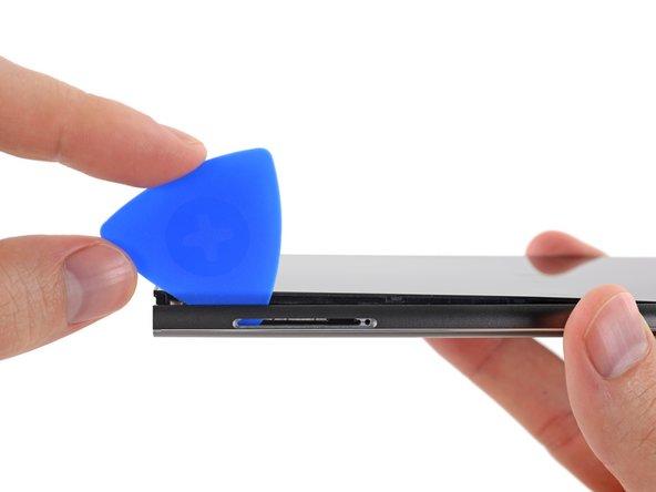 Es erinnert sehr an die iPhone Displays, bevor diese verklebt wurden.