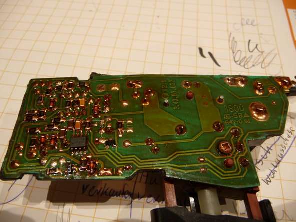 Repairing Metabo Electric Drill Electronics