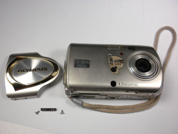 Disassembling Olympus Stylus 410 Slider