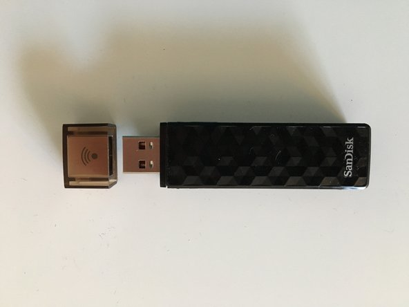 SanDisk Wireless Stick 16 Gb Disassembly