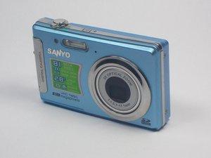 Sanyo VPC-T850 Repair