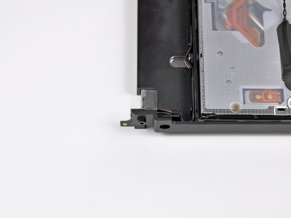 The IR sensor/receiver is located on the optical drive near the top right edge.