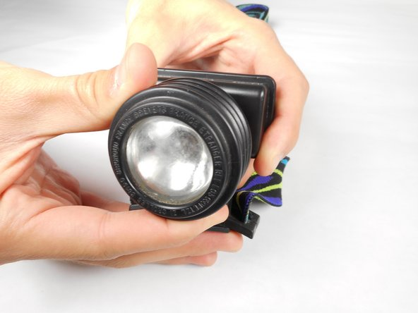 "Turn the lens piece clockwise (right) to the ""On"" position. If the light fails to illuminate after turning the lens piece to the ""On"" position you may have to replace the batteries."