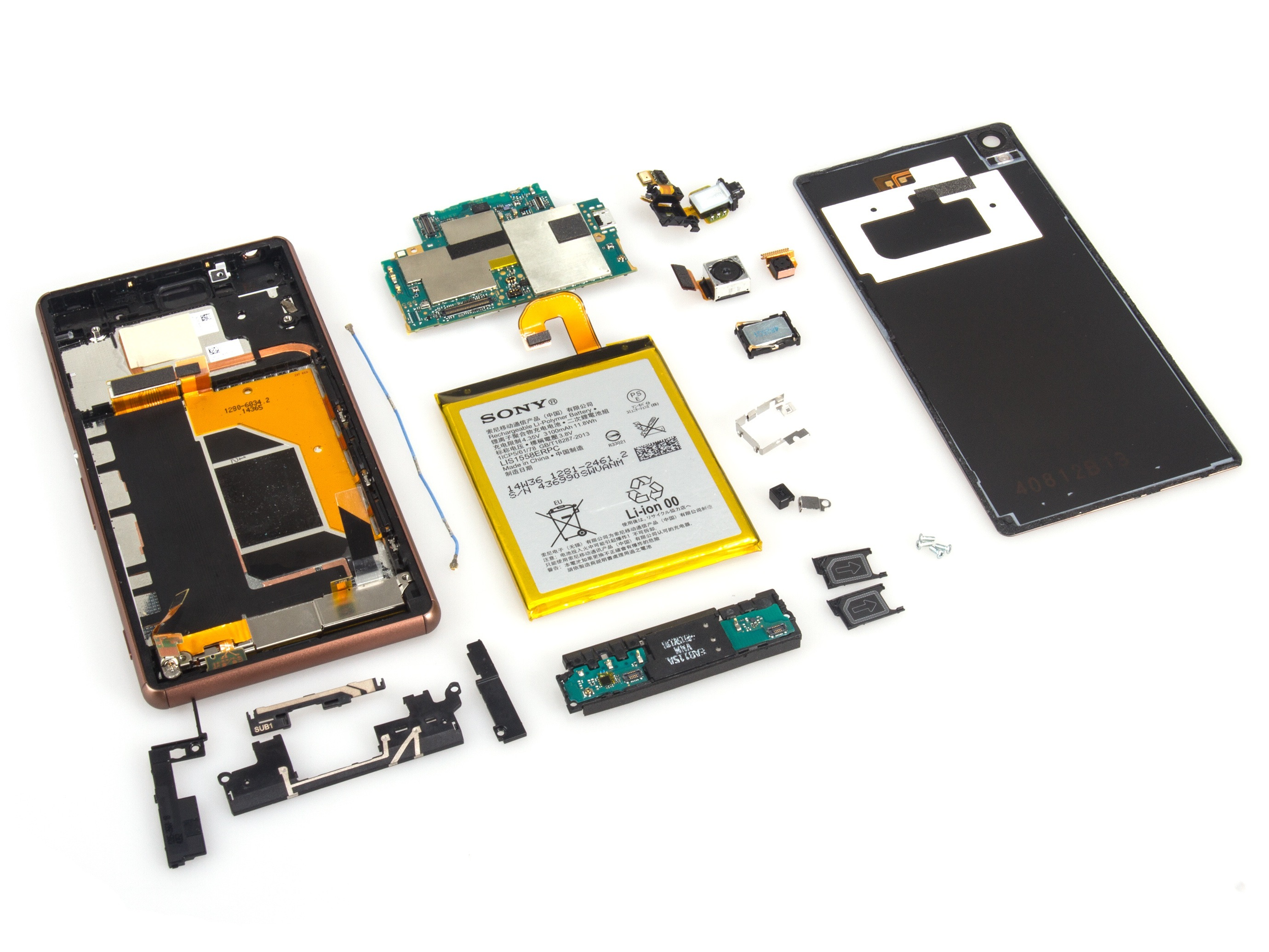 how to open service menu sony xperia