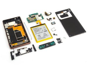 Sony Xperia Z3 Dual Teardown