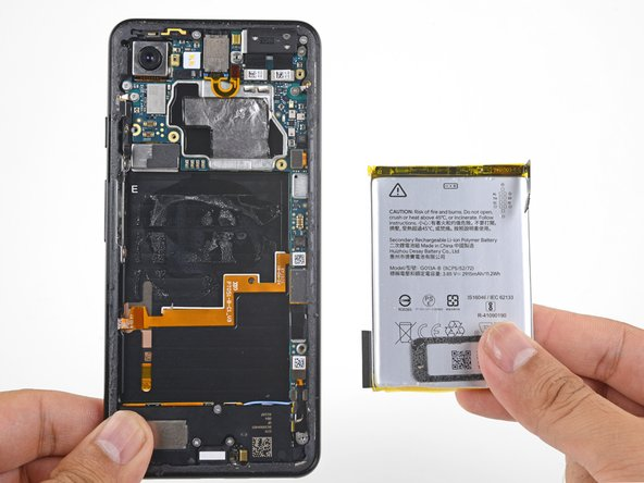 Sostituzione batteria Google Pixel 3