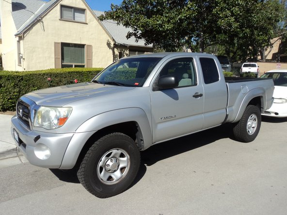 Toyota Tacoma Oil Change