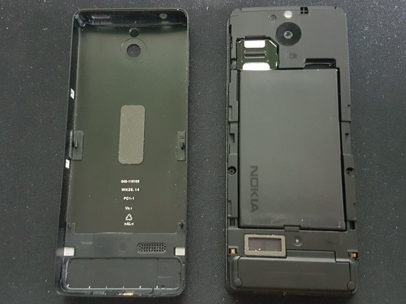 Nokia 515 Front Cover und Keypad Austausch