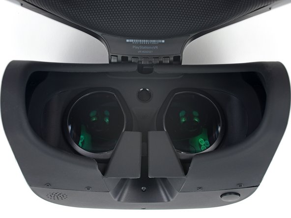 Image 3/3: This is much simpler than the Vive's [https://www.ifixit.com/Teardown/HTC+Vive+Teardown/62213#s130812|complex gear train|new_window=true], but not quite as painfree as pushing the Rift up or down on your face (thanks to its [https://www.ifixit.com/Teardown/Oculus+Rift+CV1+Teardown/60612#s126966|assymetrical Fresnel lenses|new_window=true]).