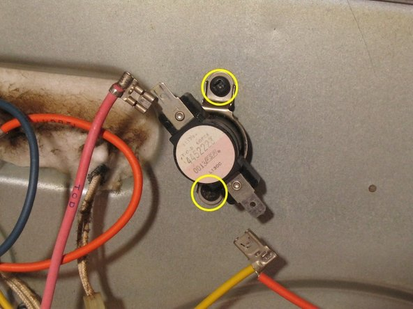 Disconnect fuse/TOD.  when replacing: Orientation does not matter, as it carries mains AC.