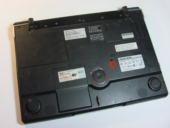 Asus W2W-A1 Disc Drive Replacement