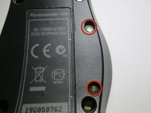 Repairing Garmin Forerunner 405 Contacts