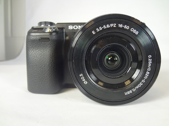 Sony Alpha NEX-6 Lens Replacement