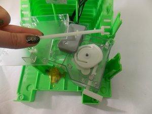 White Plastic Arm inside the Control Box