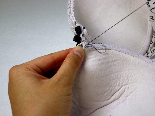 This gives your stitches extra reinforcement to make sure the tear is not reopened or pushes through the stitches.