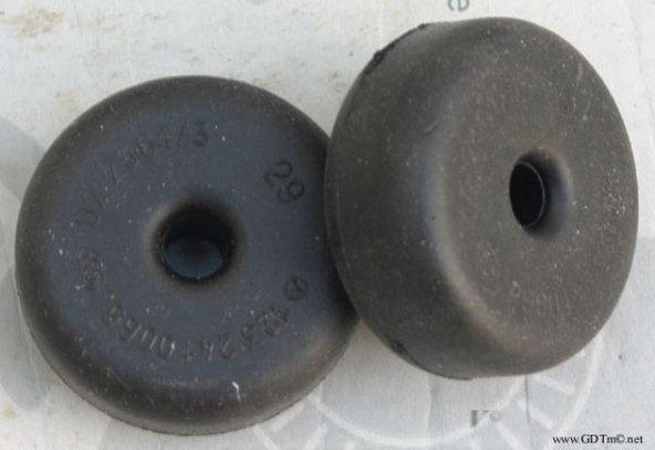 W123 Engine shock bushings Main Image