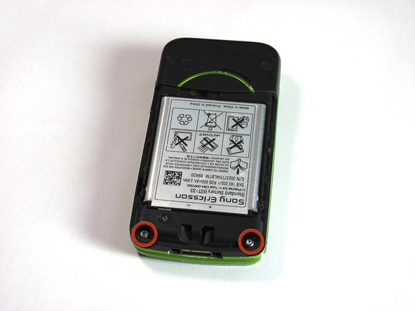 Sony Ericsson TM506 Back Case Replacement