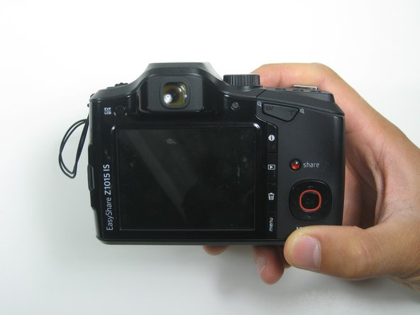 Kodak EasyShare Z1015 IS Back Cover Replacement