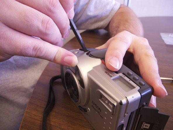 Disassembling Epson PPC650 Camera Casing