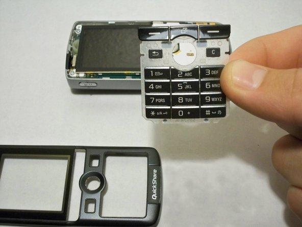 Remplacement du clavier du Sony Ericsson K750i