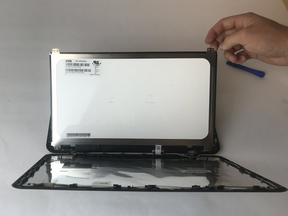 Lift and remove screen from the laptop.